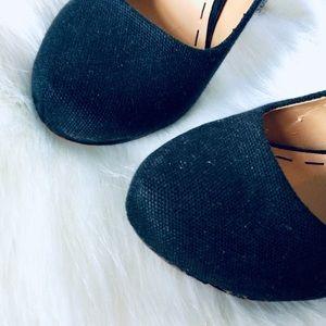 Nine West Shoes - NINE WEST | Pumps Black Canvas Rainbow Woven Heel